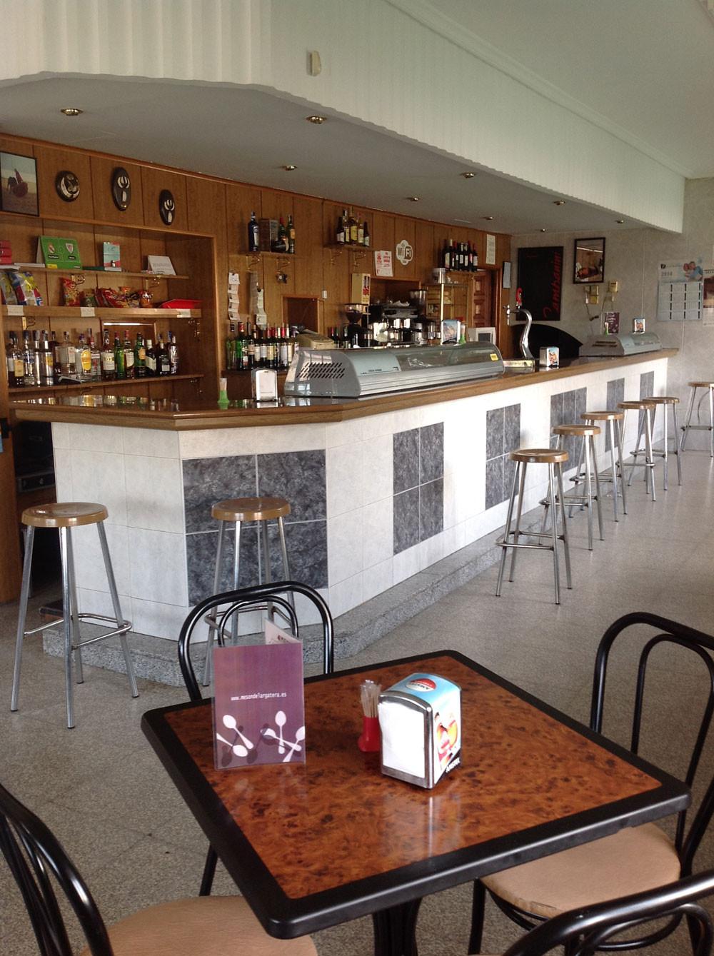 Cafetería de nuestro mesón rural en Lagartera. Toledo
